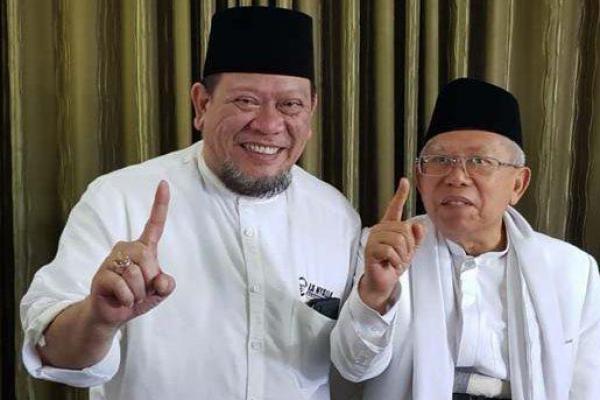 La Nyalla Garansi Jokowi-Ma`ruf Amin Menang di Madura