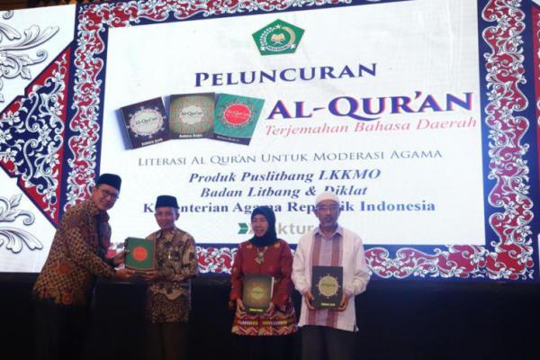 Kemenag Luncurkan Alquran Termah Berbahasa Bugis, Madura dan Aceh