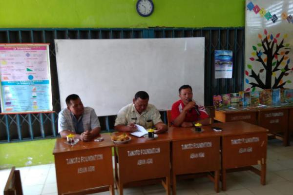 SDN 163/I Bulian Jaya Ajak Kepala Desa Susun Program Sekolah, Begini Strateginya