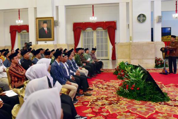 Presiden Jokowi Buka Kongres XIX IPNU di Istana Merdeka