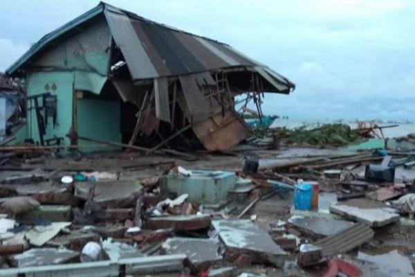 Kemenpora Beri Santunan Keluarga Pegawai Kemenpora yang jadi Korban Tsunami