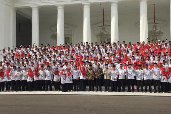 Guru PGSI Temui Jokowi, Karding: Mereka Pejuang Pendidikan