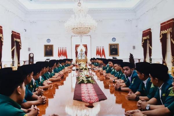 Pimpinan GP Ansor se Indonesia Temui Jokowi, Ini yang Dibahas