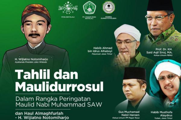 Pagar Nusa Gelar Haul Ayah Jokowi