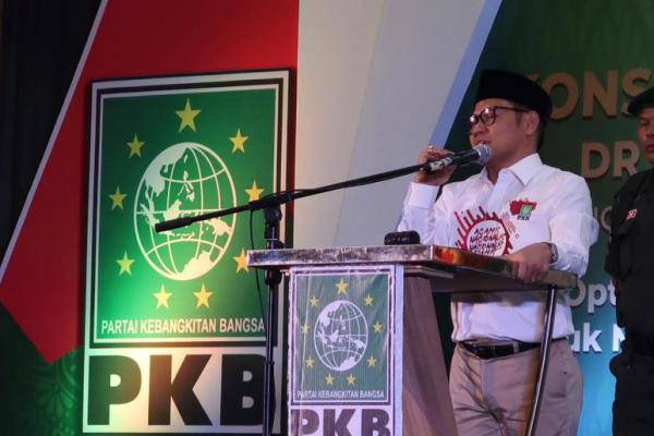 Hadir di Acara Konsolidasi Caleg se-Kalbar, Cak Imin: Jokowi...Lanjutkan!