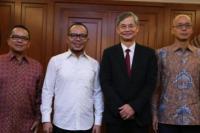 Menteri Hanif Terima Kunjungan Sekretaris Buruh Hong Kong di Kemnaker
