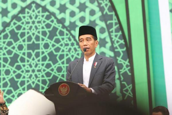 Jokowi: Muslimat NU Gambaran Kemajemukan Indonesia