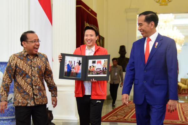 Ini Harapan Jokowi dan Menpora pada Liliyana Natsir