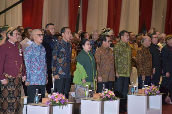 Presiden Jokowi Hadiri Perayaan Imlek di JI Expo Kemayoran