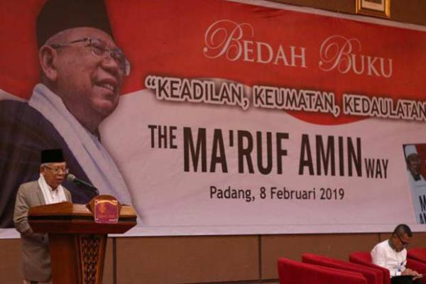 Ma`ruf Amin: Prabowo Sudah Tempuh Jalur Hukum, Tak Perlu Ada Demo Lagi