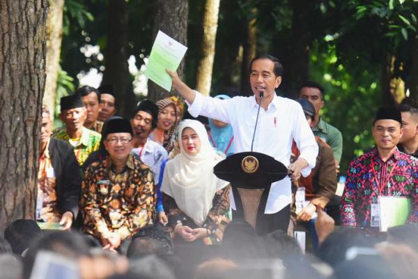 Soal Lahan Prabowo, Jokowi: Apa Saya Pernah Bilang Masalah?