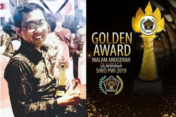 Keren! Faisol Riza Raih Penghargaan Siwo Golden Award 2019