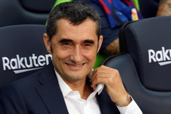 Resmi! Barcelona Pecat Pelatih Ernesto Valverde
