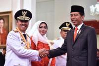 Presiden Jokowi Lantik Gubernur dan Wakil Gubernur Riau