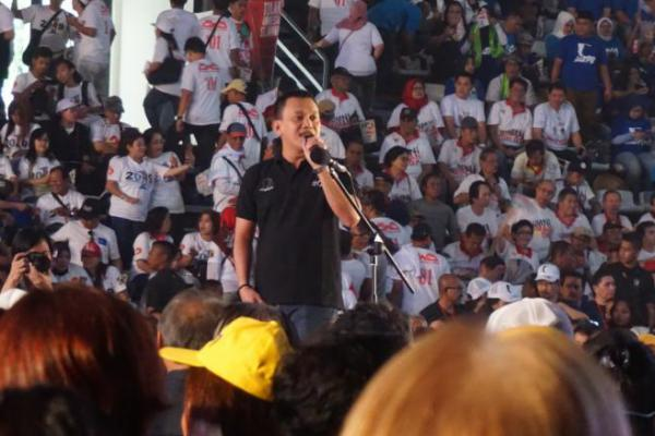 "Prabowo Diteriaki ""Jokowi Wae"", Karding: Rakyat Cinta Jokowi"