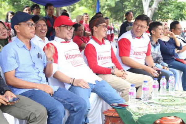 Menaker Hadiri Tour Akbar Kopkar PT Muara Tunggal di Jakarta Utara