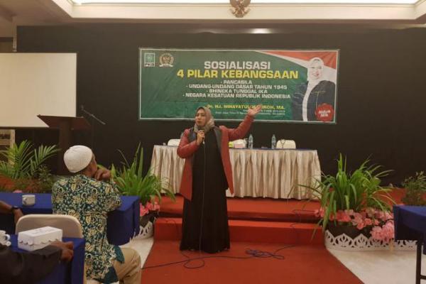 Nihayatul Wafiroh: Hoaks Bukan Karakter Ala Pancasila!