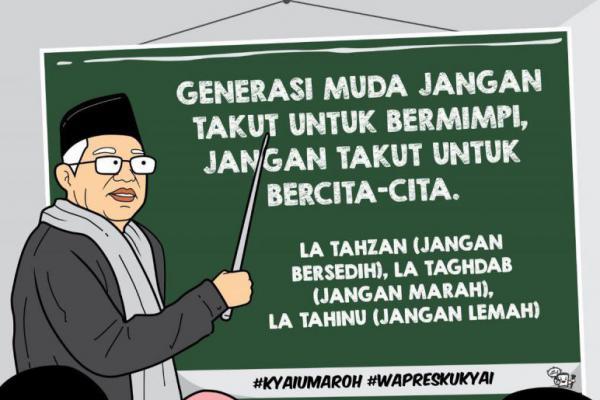 Majukan Indonesia, Ma`ruf Amin: Kami Akan Bentuk Badan Riset Nasional