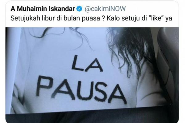 Hanum Rais Kritik Cuitan Cak Imin, Netizen Bingung