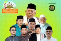 Santrifest 2019 di Banten Hadirkan Sejumlah Tokoh dan Artis Nasional