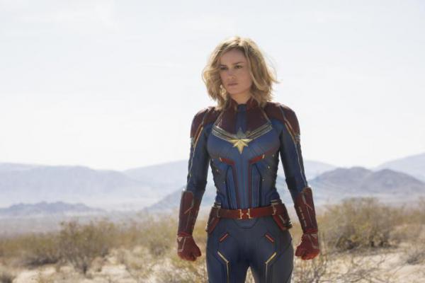 Wow..Pendapatan `Captain Marvel` Diprediksi Capai 1 Triliun