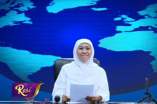 Namanya Disebut Romahurmuziy, Khofifah Siap Support KPK