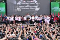 Ada Sejumlah Menteri Kabinet Kerja dan Artis dalam Peresmian MRT Jakarta