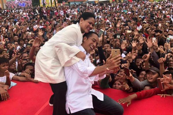 Tunggu Pengumuman Hasil Pilpres, Jokowi: Santai Aja!