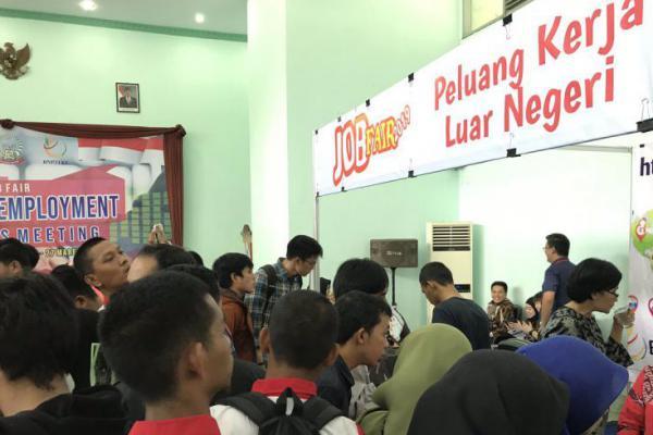 Serap Tenaga Kerja, KJRI Kuching Gelar Job Fair di BLK Makassar
