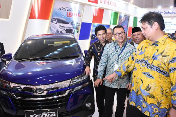 Menteri Perindustrian Targetkan Ekspor Otomotif Tembus 450 Ribu Unit