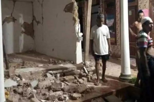Gempa 5.0 SR Guncang Sumenep, 32 Rumah Rusak di Pulau Raas