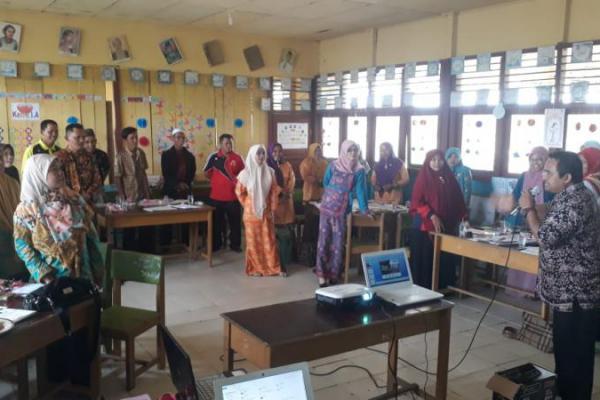 Tidak Mau Ketinggalan, 14 MI di Tanjab Barat Diseminasi Program PINTAR Tanoto Foundation