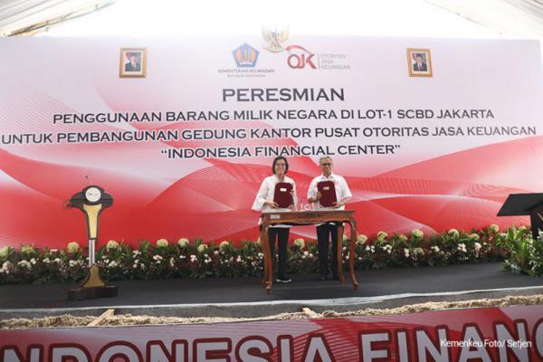 Kementerian Keuangan Bangun Indonesia Financial Center, Ini Manfaatnya