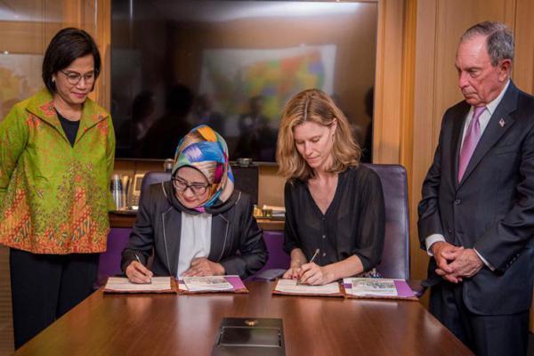 PT SMI dan Bloomberg Philanthropies Jalin Kerjasama Kembangkan SDGs di Indonesia