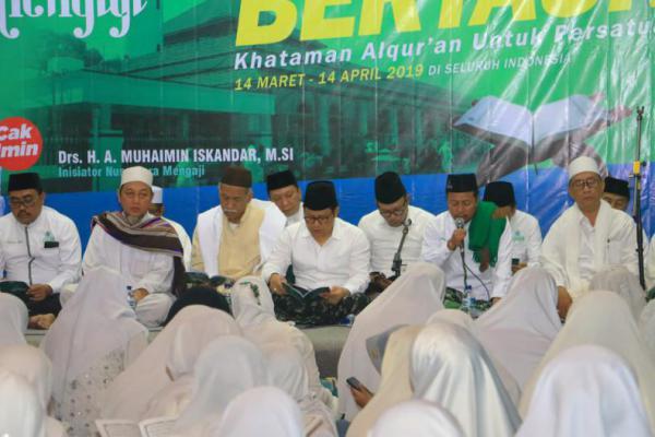 Nusantara Bertauhid Gelar Khataman Alquran Serentak se Indonesia