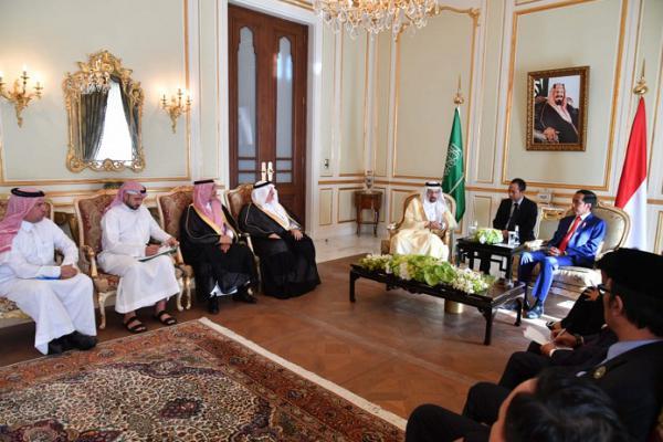 Presiden Jokowi Bahas Kerjasama Energi dengan Arab Saudi
