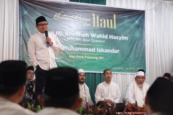 Gelar Haul Nyai Sholihah Wahid Hasyim, Cak Imin: Ibunya para Pejuang NU