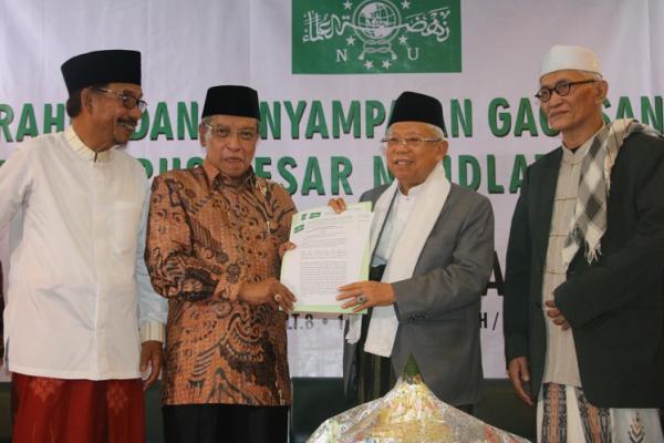 Amanat PBNU untuk Pasangan Joko Widodo-KH Ma'ruf Amin