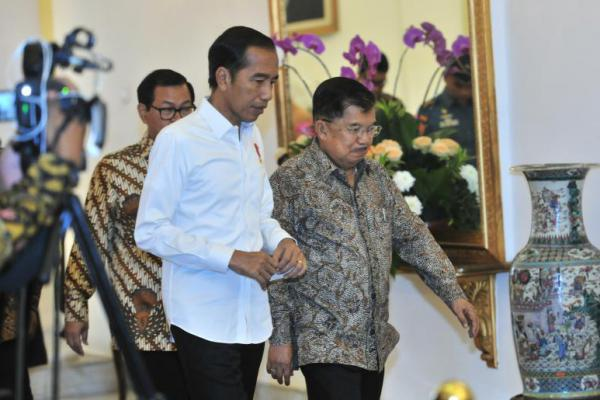 Presiden Jokowi Ingin Para Pengusaha Manfaatkan Peluang Perang Dagang AS-Tiongkok