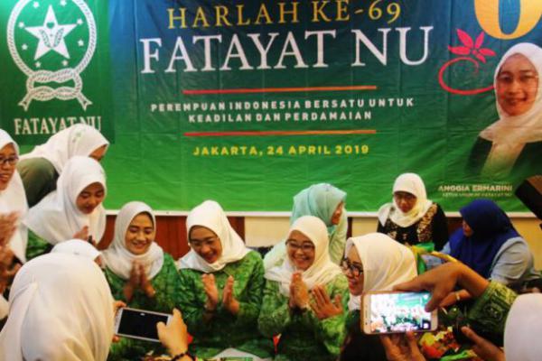 Harlah ke-69, Fatayat NU Gelar Tasyakuran