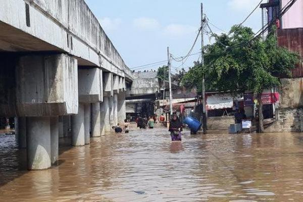 BPBD DKI Catat 2.258 Warga Mengungsi Akibat Banjir