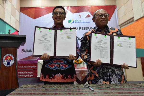 Menpora Jalin Kerjasama dengan BPJS Ketenagakerjaan untuk Perlindungan Atlet Indonesia