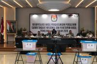 Rekapitulasi Rampung, KPU Tetapkan Jokowi-Ma'ruf Pemenang Pilpres