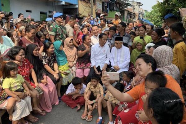 Rakyat Indonesia Menanti Pidato Visi Indonesia Jokowi-Ma'ruf Amin
