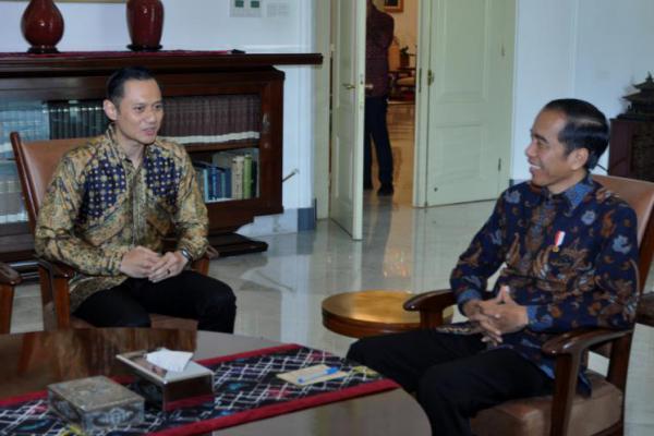 Usai Bertemu Jokowi, AHY dan Ibas Halal Bihalal ke Kediaman Megawati