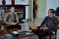 Temui Jokowi, Agus Harimurti Sampaikan Pesan SBY