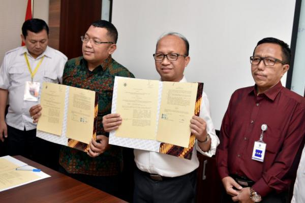 Kemendes PDTT Jalin Kerjasama Kembangkan Pomdes