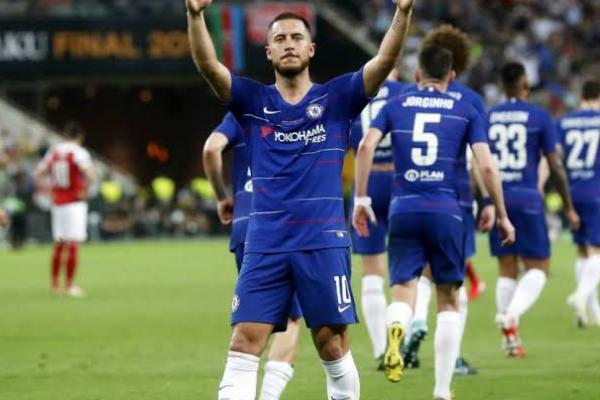 Resmi! Real Madrid Datangkan Eden Hazard dari Chelsea