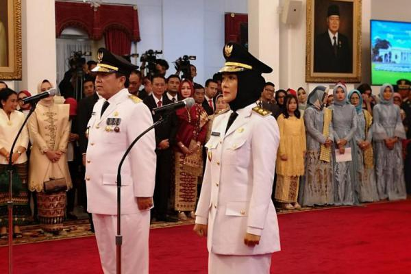 Ketua DPW PKB Lampung Dilantik Jadi Wagub, Cak Imin: Selamat Bekerja!