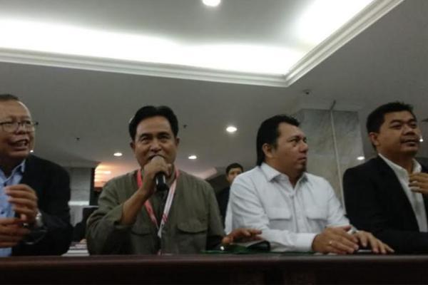 Tim Kuasa Hukum Jokowi-Ma`ruf Amin Serahkan Keterangan ke MK